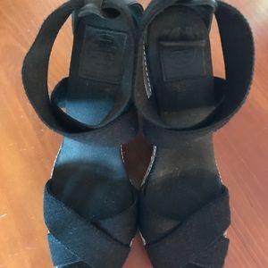 Tori Butch wedge sandals